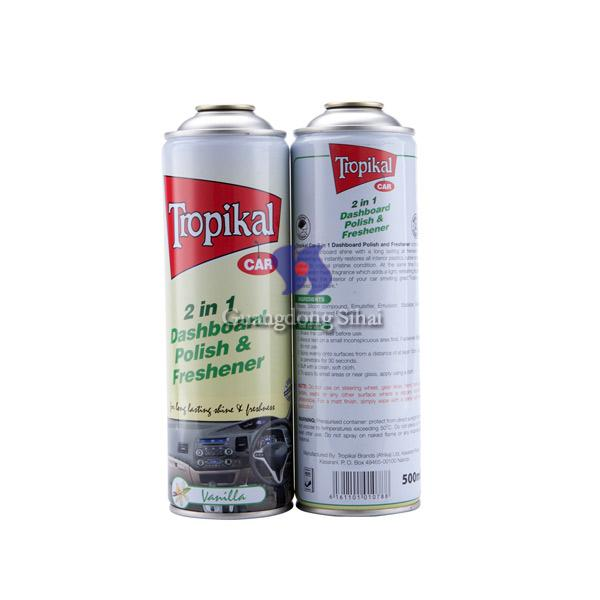 D65mm Empty Aerosol Tin Cans