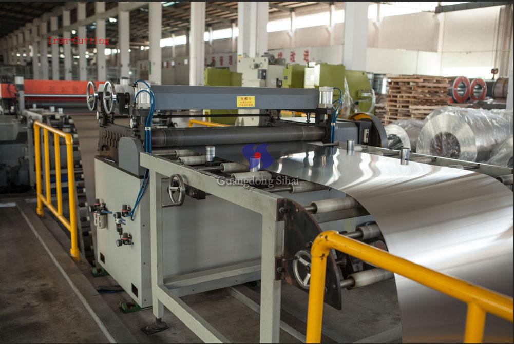 iron-cutting line