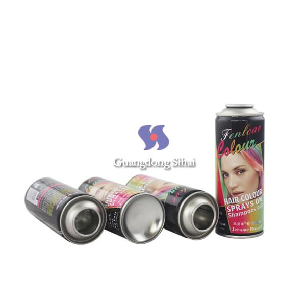 52mm empty hair spray can