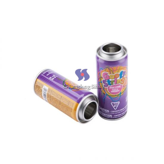 Party String Empty Aerosol Tin Cans