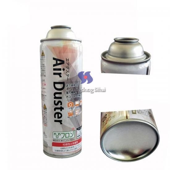 Air duster empty can
