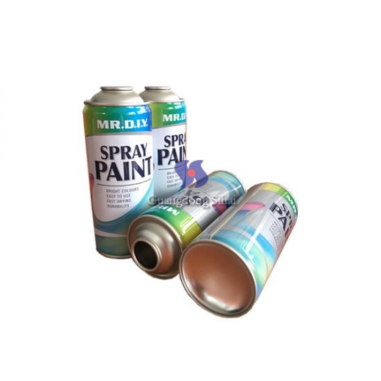 Paint Spray Aerosol Tin Cans