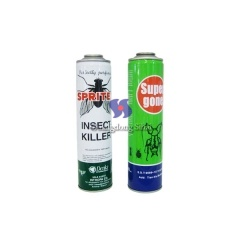 aerosol spay insecticide can