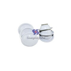 White Coating Tinplate Lids for Necked -in Aerosol Can