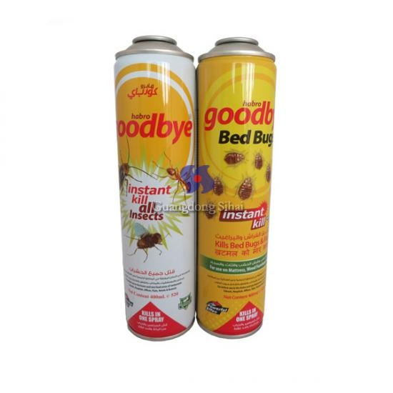 insect killer aerosol can