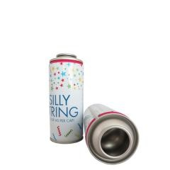 string spray tinplate can