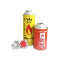 China OEM Empty Aerosol Butane Gas Cartridge for Gas Stove Use Gas Can Manufacturer